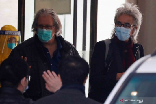 Tim WHO yang selidiki asal-usul pandemi bertemu ilmuwan China