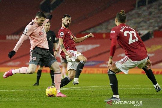 Sheffield United jegal ambisi Manchester United kembali ke puncak