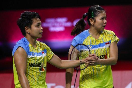 Greysia/Apriyani petik kemenangan kedua di BWF Finals