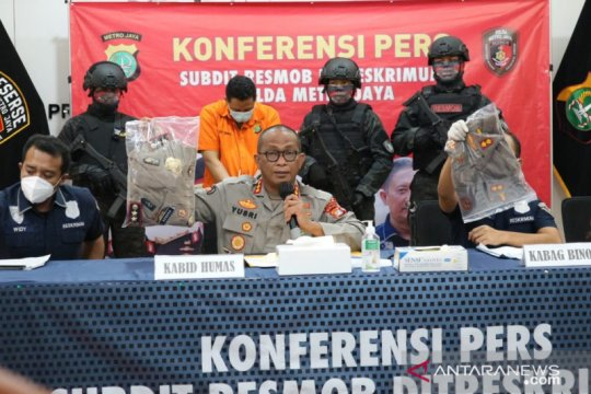 Polda Metro ringkus mantan polisi tipu korbannya Rp140 juta