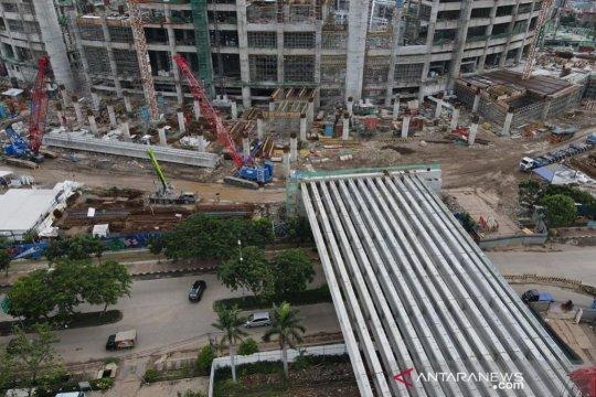 Jakpro sebut pembangunan JIS capai 45,2 persen hingga Januari 2021