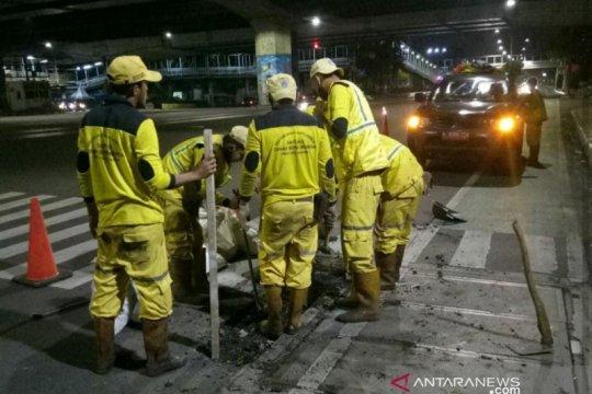 30 titik jalan rusak di Jaktim telah diperbaiki