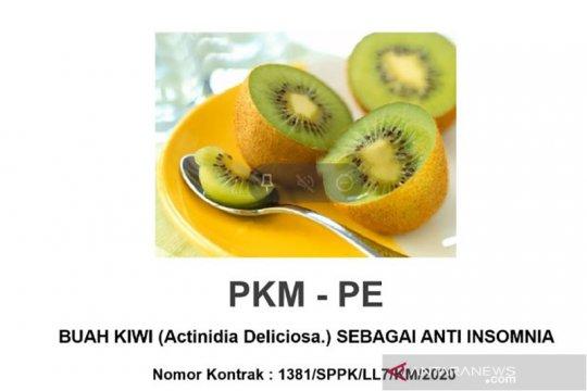 Mahasiswa UMM temukan solusi atasi insomnia dengan buah kiwi