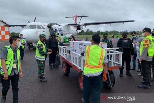 NAM Air distribusikan vaksin COVID-19 di wilayah Kalimantan Barat