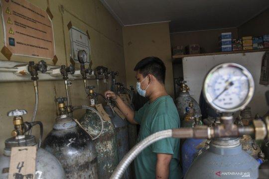 Anies: Pasokan tabung oksigen di Jakarta terkendala kurang armada