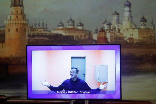 Alexei Navalny divonis 3,5 tahun penjara oleh pengadilan Rusia