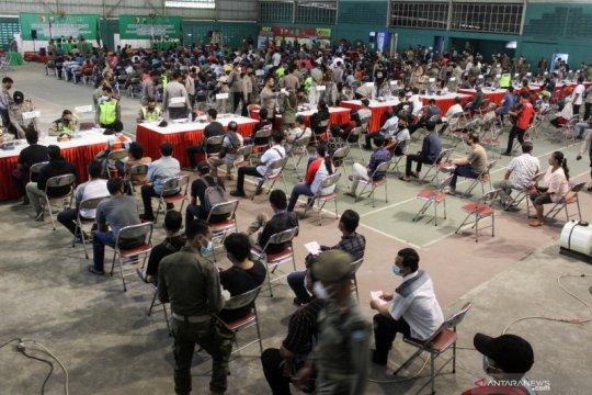 Sidang bagi 2.000 pelanggar protokol kesehatan