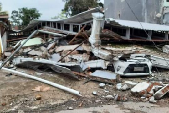 8.000 rumah rusak akibat gempa Mamuju