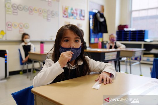 CDC: Guru dapat berperan dalam penularan COVID-19 di sekolah