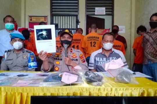 Polisi ringkus tujuh anggota geng motor yang tewaskan pelajar di Sumut