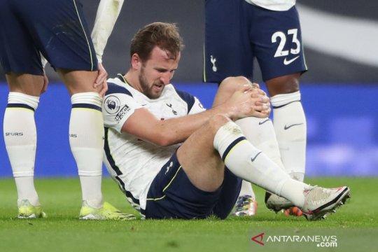 Spurs terancam kehilangan Harry Kane beberapa pekan karena cedera