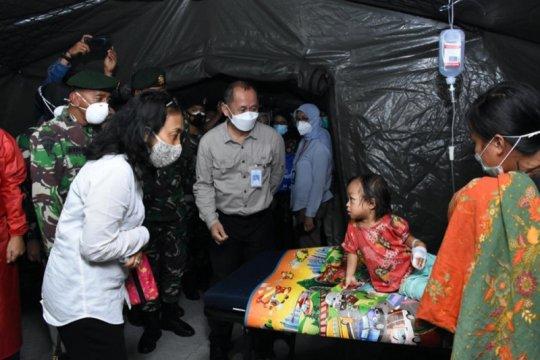 Menteri PPPA motivasi anak pengungsi gempa di Mamuju