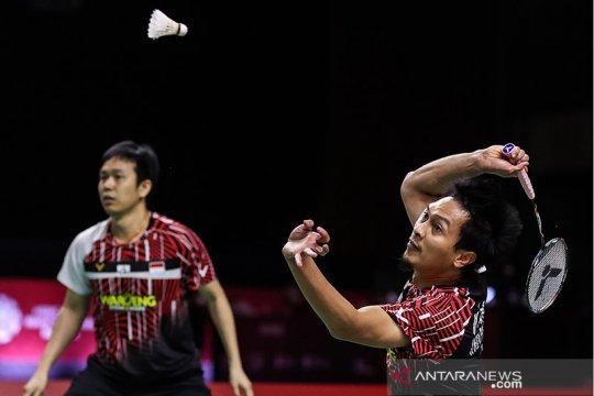 Dikalahkan wakil Taiwan, Hendra/Ahsan gagal pertahankan gelar WTF