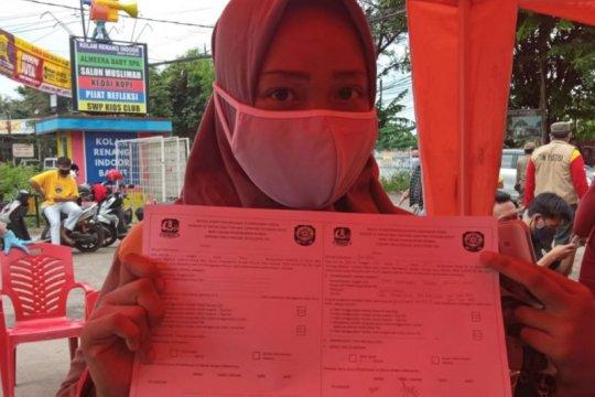 43 pelanggar prokes Bekasi disanksi sosial