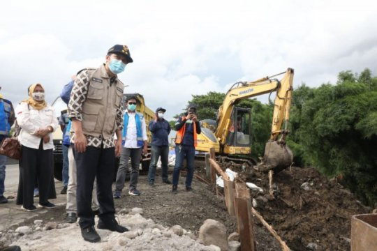 Wagub Jatim: Pengerjaan jalan tol ambles selesai 7 Februari 2021
