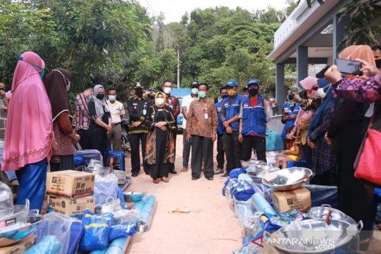 Kemensos salurkan bantuan warga terdampak longsor di Tanjungpinang