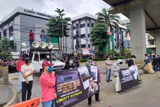 Demonstran soroti dugaan pesta narkoba di Rutan Salemba