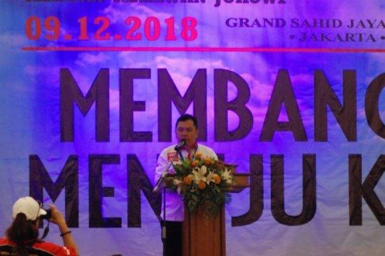 Foreder, relawan Jokowi dukung pilkada serentak 2024