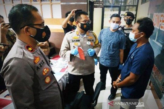 Polisi tangkap pemodal tambang emas ilegal di Kotawaringin Timur