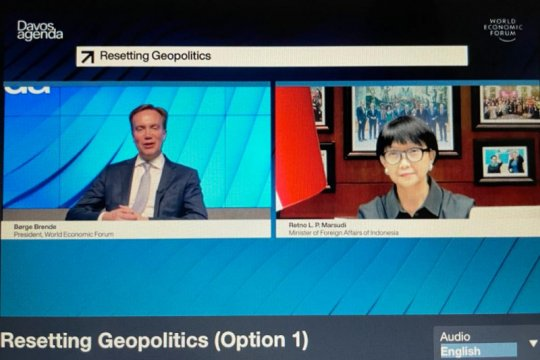Dorong multilateralisme, Menlu RI minta hentikan nasionalisme vaksin