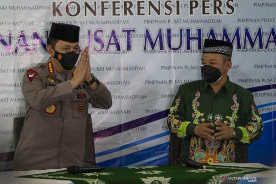 Silaturahmi Kapolri ke PP Muhammadiyah