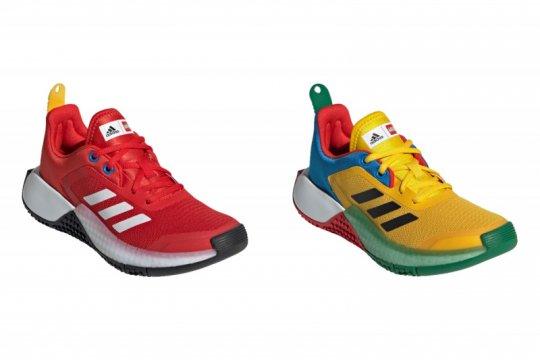 Adidas berkolaborasi dengan Lego untuk koleksi sepatu anak