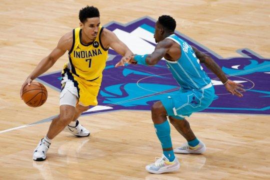 Hornets kalahkan Pacers 108-105 di kandang