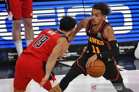 35 poin dan 15 assist Trae Young bantu Hawks kalahkan Nuggets