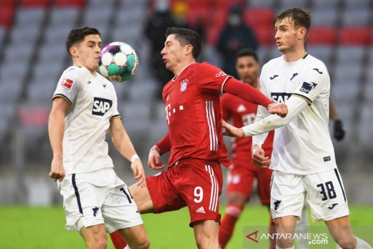 Bundesliga : Bayern Munchen gasak Hoffenheim 4-1