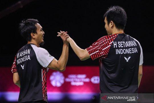Pebulu tangkis Indonesia bertolak ke Olimpiade Tokyo 8 Juli