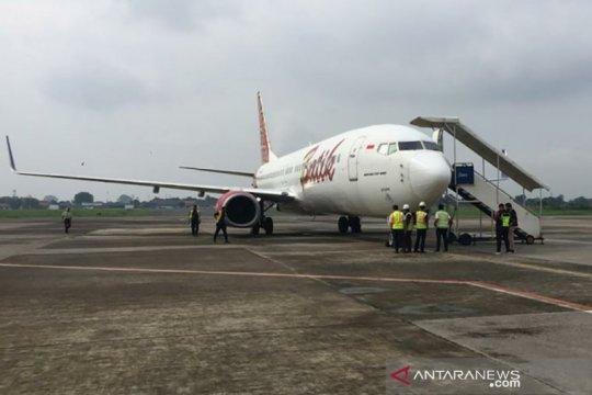 Dua pesawat tujuan Semarang mendarat darurat di Bandara Adi Soemarmo