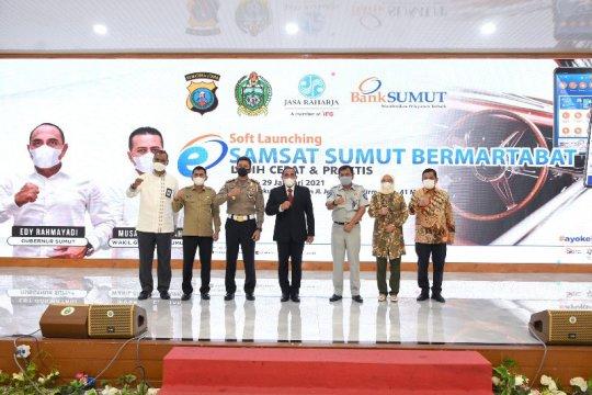 Tingkatkan pendapatan pajak, Pemprov Sumut luncurkan e-Mobile Samsat