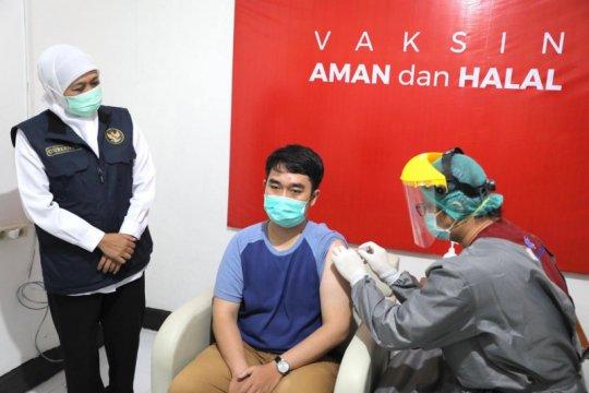 Pemprov Jatim dorong langkah percepatan vaksinasi