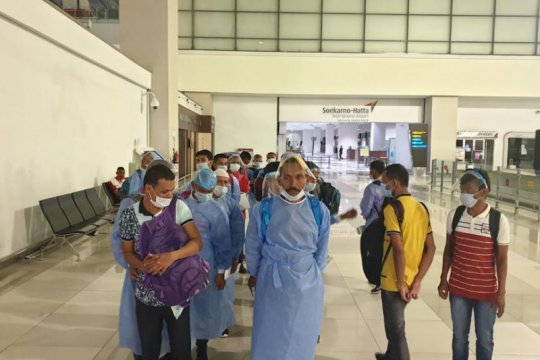 Bebas dari tahanan India,  28 nelayan asal Aceh dipulangkan
