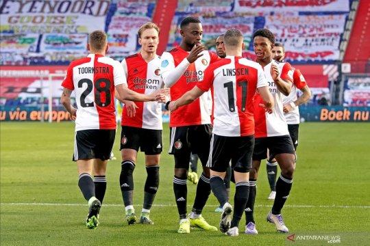 Feyenoord kembali ke jalur kemenangan setelah bungkam PSV Eindhoven