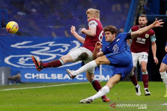 Bungkam Burnley, Chelsea petik kemenangan perdana era Tuchel