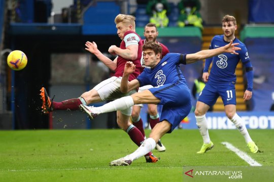 Liga Inggris:  Chelsea kalahkan Burnley 2-0