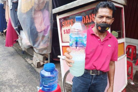 Pasar Jatinegara siapkan penunjang protokol kesehatan untuk konsumen