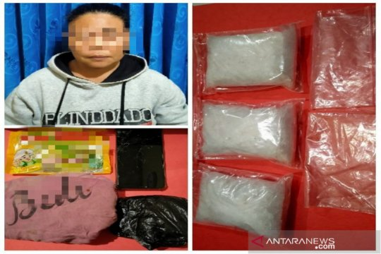 Polres Banjarbaru sita ratusan gram sabu-sabu pengedar asal Kalteng