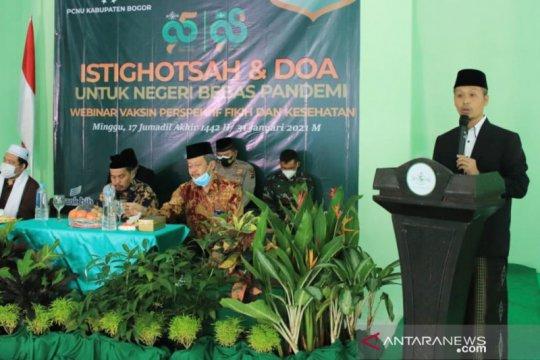 Harlah ke-95, PCNU Bogor doa bersama agar pandemi berakhir