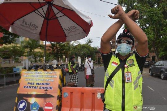 Pantai di Denpasar ditutup pada Hari Banyu Pinaruh