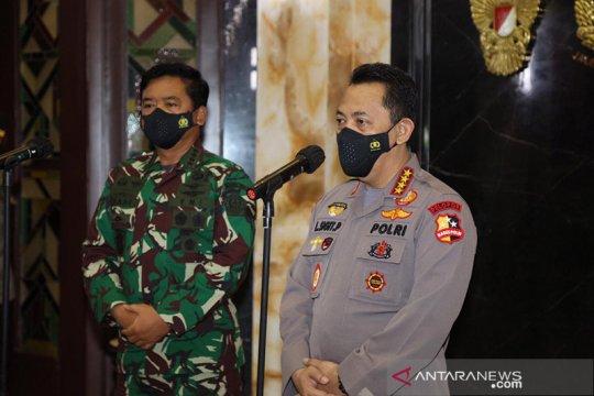 Kapolri silaturahmi dengan Panglima TNI tingkatkan soliditas TNI-Polri