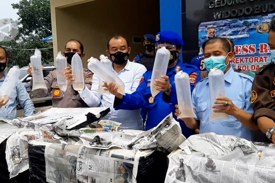 Polairud Polda Banten gagalkan penjualan benih lobster senilai Rp6 miliar