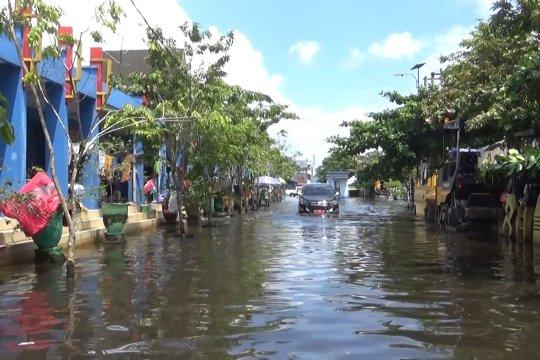 Banjir mulai surut, kondisi Kalsel kian kondusif