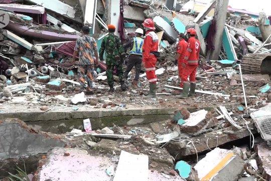 BNPB sebut status gempa Sulbar tanggap darurat bukan bencana nasional