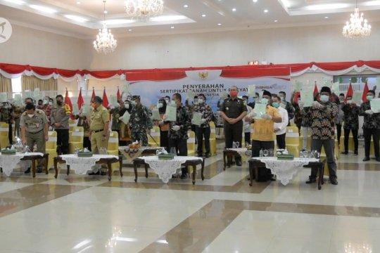 2021, Target Riau bagikan 400 ribu sertifikat tanah