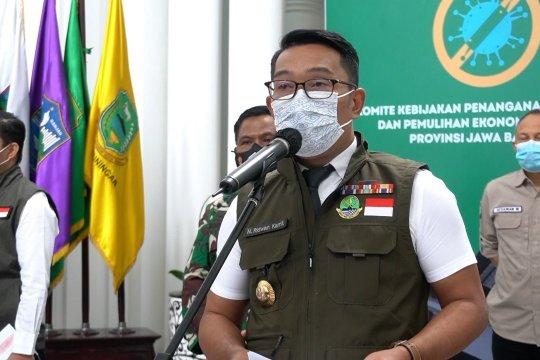 Angka penularan COVID-19 saat libur panjang di Bandung menurun