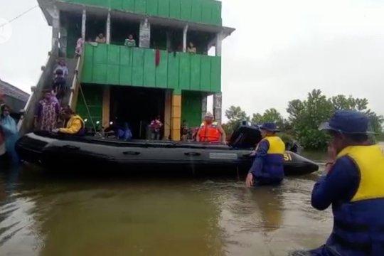 Danrem : Banjir di Kalsel akibat curah hujan tinggi