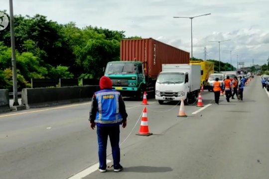 Dua jalur Tol Surabaya-Gempol kembali dibuka