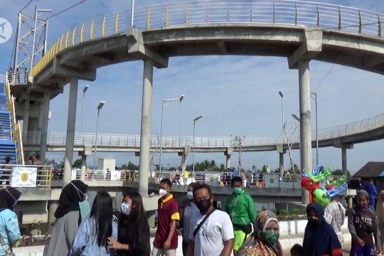 Jembatan Antasan Pulau Bromo, ekowisata baru Banjarmasin